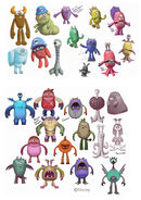 Monsters Concept 2