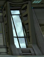Helicarrier Window