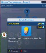 Lewis Costume
