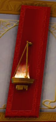 Agrabah Palace Sconce
