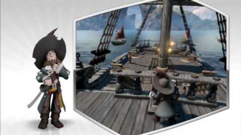Disney Infinity - Hector Barbossa Character Gameplay - Series 1