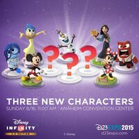 Who are these 3 D23 mystery characters?
