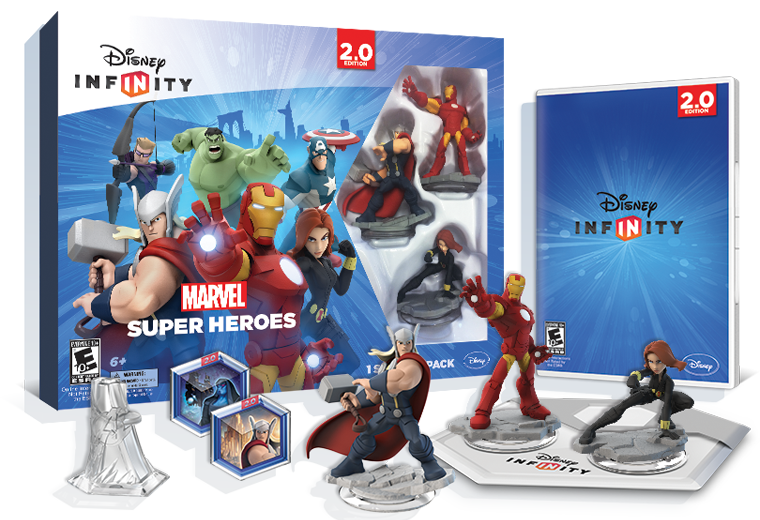 Viki Liki Super Heroes Action Figure Play Set and Cake Topper set go 6