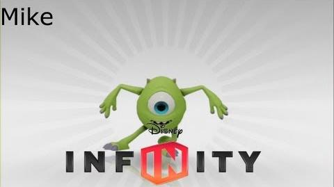 Mike's Scare Pig Dash -Disney Infinity-