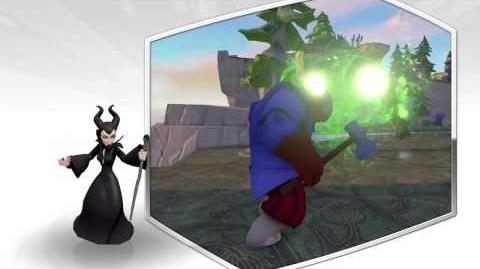 Disney Infinity 2.0 Maleficent preview video.