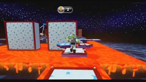 DISNEY INFINITY Cosmic Platformer (Featured Toy Box)