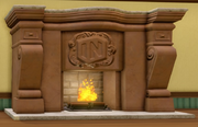 Disney Infinity Fireplace Closed
