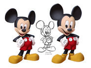 SamNielson Infinity RedPants Mickey