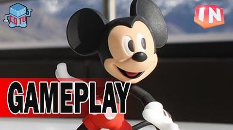 Disney Infinity 3 MICKEY MOUSE Gameplay Preview E3 2015