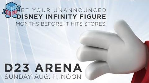 Disney Infinity D23 Expo Exclusive Figure