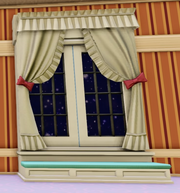 Darling Nursery Window