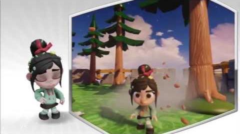 Disney Infinity - Vanellope Character Gameplay - Series 2