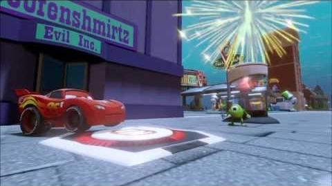 Infinity Machine - Mike, Lightning McQueen, Firework Switch