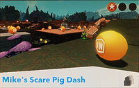 Adventure-character-Mike's Scare Pig Dash
