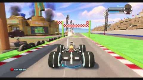 DISNEY INFINITY ESPN Speedway (Featured Toy Box)