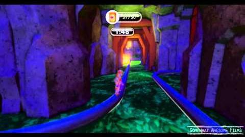 Disney Infinity Tangled Rapunzel's Rail Ride Gold