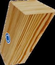 Tall Wooden Block