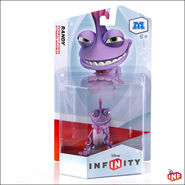 Disney infinity randall figure packaged