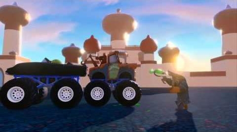 Infinity Machine - Tow Mater, Davy Jones, Goo Grower