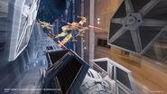 X-WingDeathStar