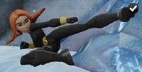 Black Widow - Flying Kick