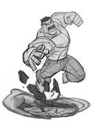 Premium boxsketch hulk 01 nogrey