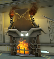 Ghost Rider Fireplace