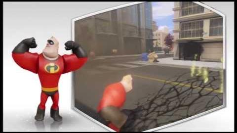Disney Infinity - Mr Incredible Character Gameplay - Series 1