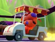 Gravity Falls Golf Cart-Baymax