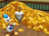 Scrooge McDuck's Money Pile