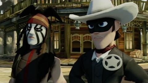 Lone Ranger - Disney Infinity - E3 2013 Gameplay