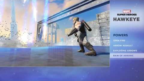 Hawkeye - Disney Infinity Marvel Super Heroes (2