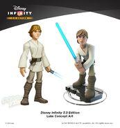 Concept Luke Disney Infinity 3.0