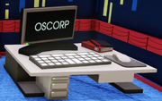 Small Oscorp Desk