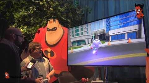 Disney Infinity Incredible Playset Walkthrough الخارقون في ديزني انفينيتي