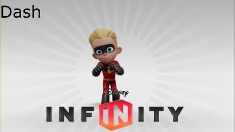 Dash's Data Dart -Disney Infinity-