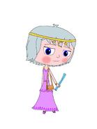Luna Girl's Goddess Girl outfit