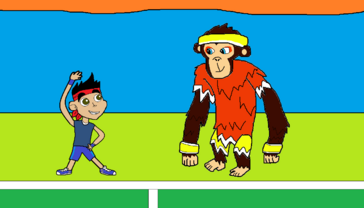 Captain Jake and the Chimp Champ