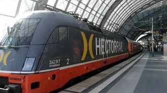 Hector Rail 242 517 Fitzgerald in Berlin Hbf Germany