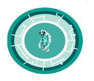 Seafoam Sloth Power Disc