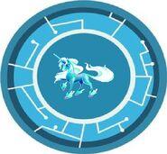 Crystal Unicorn Power Disc