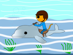 Kwazii and Little Matey in the Great Dolphin Race