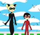 Miraculous: Tales of Miles-Bug and Cassie Noir