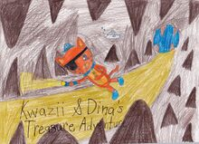 Kwazii and dina s treasure adventure by cmanuel1-d592ovv