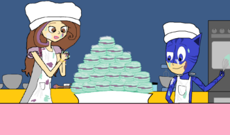 Catboy and Sage's Macarons