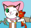 Callie's Kissy Cat