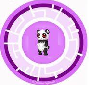 Petite Panda Power Disc
