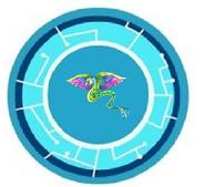 Quartz Quetzalcoatl Power Disc