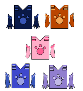 Magical Creature Power Suits