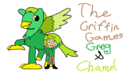 The Griffin Games Greg and Chamel
